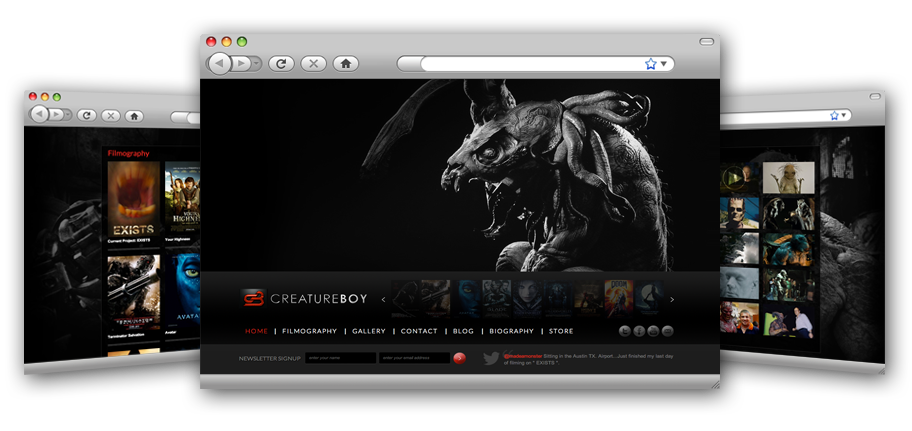 CreatureBoy re-launches a fresh, modern web presence